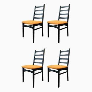 East German Dining Chairs from VEB VSI Neuhausen, 1960s, Set of 4