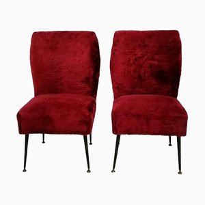 Lounge Chairs by Gigi Radice for Minotti, 1960s, Set of 2