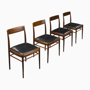 Mid-Century Dining Chairs from Benze Seating Furniture, 1960s, Set of 4