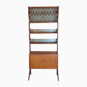 Mid-Century Norwegian Teak Ergo Wall Unit by John Texmon for Blindheim Møbelfabrikk, 1960s