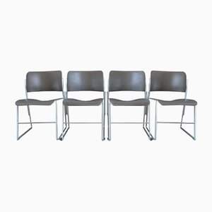 Model 40/4 Dining Chairs by David Rowland for GF Furniture, 1960s, Set of 6