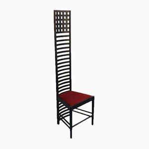Italian Modern Hill House 1 Chair by Charles Rennie Mackintosh, 1980s