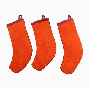 Kilim Christmas Ornament Stockings, Set of 2