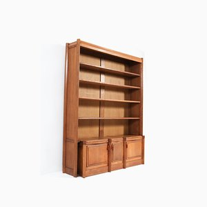 Oak Art Deco Amsterdam School Bookcase by Willem Retera Wzn, 1918