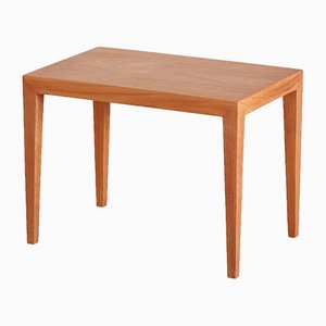 Danish Teak Side Table by Severin Hansen for Haslev, 1960s