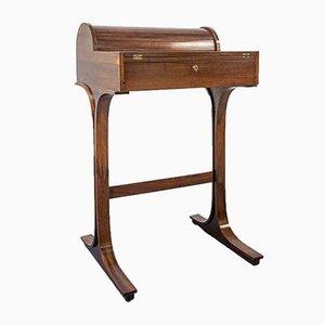 Palisander Schreibtisch von Gianfranco Frattini für Bernini, 1960er