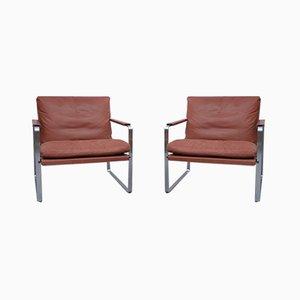 Vintage Sessel von Preben Fabricius & Jørgen Kastholm für Knoll, 2er Set