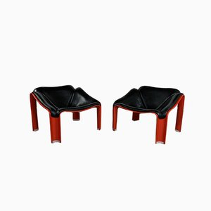 F300 Lounge Chairs by Pierre Paulin for Artifort, 1960s, Set of 2