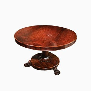 Antique Round Rosewood Dining Table