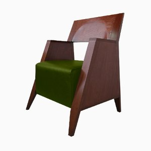 Retro Armchair by Luis Ramírez