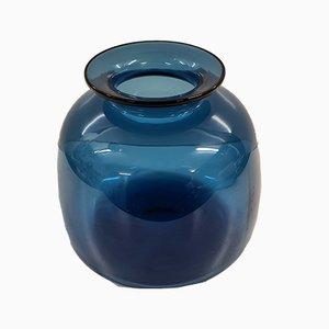 Capri Glass Vase by Jakob E. Bang for Holmegaard, 1962