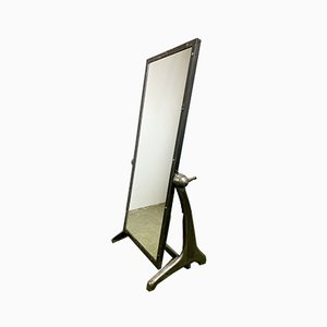 Vintage Industrial Adjustable Floor Mirror