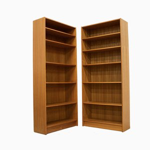 Mid-Century Danish Teak Bookcase from Domino Mobler