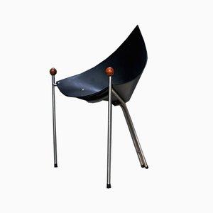 Vintage Dutch Coffee Chair by Luuc Visch, 1990s