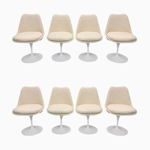 Tulip Dining Chairs by Eero Saarinen for Knoll Inc. / Knoll International, 1970s, Set of 8