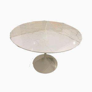 Tavolo da pranzo in marmo di Eero Saarinen per Knoll Inc. / Knoll International, anni '70