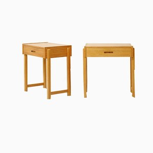 Bedside Tables from AB Carlström & Co, 1950s, Set of 2