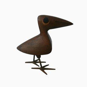 Petite Sculpture Oiseau par Franz Hagenauer