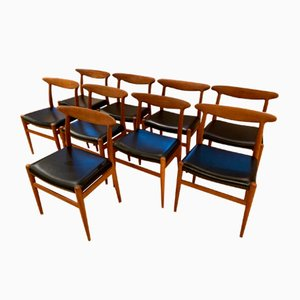 W2 Dining Chair by Hans Wegner for C.M. Madsen, 1970s