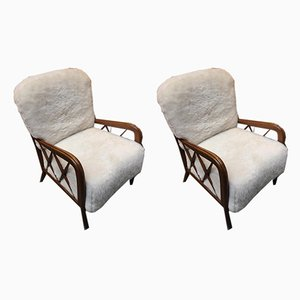 Lounge Chairs by Paolo Buffa, 1960s, Set of 2