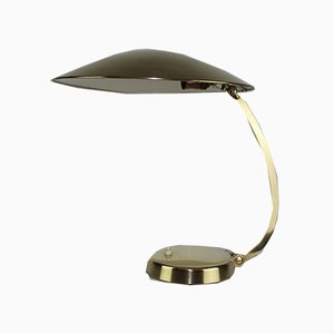 Brass Table Lamp from Hillebrand, 1940s