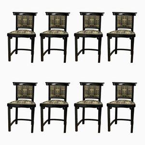 Vintage Esszimmerstühle von Mundus, 8er Set