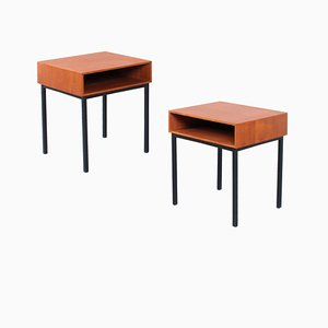Mid-Century Teak Nightstands by André Cordemeyer and Dick Cordemeijer for Auping, 1960s, Set of 2