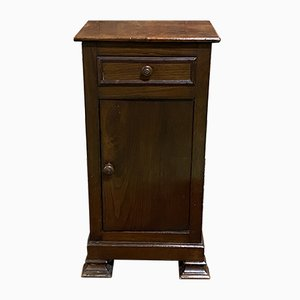 Louis Philippe Chestnut Bedside Table