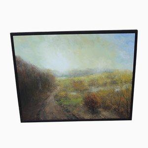 Peter Wilde, Meadow Landscape, 2003, Oil on Canvas, 2003