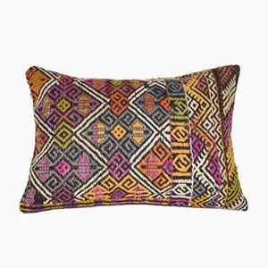 Vintage Geometric Kilim Cushion Cover