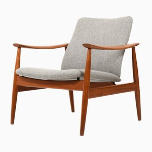 FD-138 Teak Lounge Chair by Finn Juhl for France & Søn / France & Daverkosen, 1950s