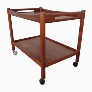 Teak Trolley by Hans J. Wegner for Andreas Tuck, 1950s