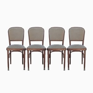 Antique Dining Chairs, Set of 4