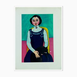 Henri Matisse (after) , the Young Girl, 1954 , Lithograph