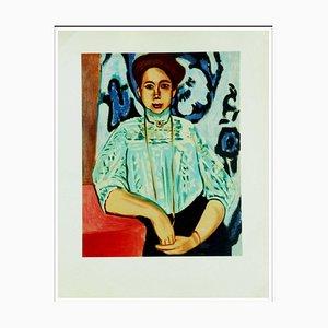 Henri Matisse (d'après) , La Pose, 1954 , lithograph