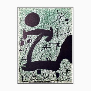 Joan Miro (after) , Composition, 1970 , Lithograph