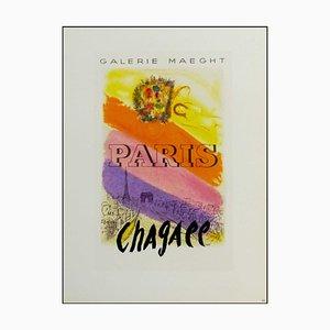 Marc Chagall (nachher), Galerie Maeght Paris Chagall, 1959, Lithographie