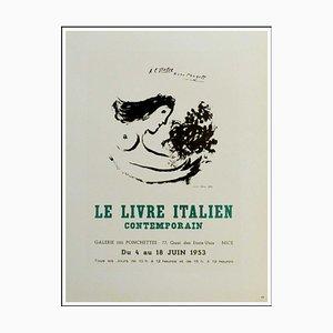 Marc Chagall (d'après) , Le Livre Italien Contemporain, 1959 , lithograph
