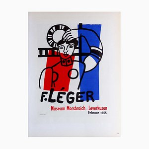 Fernand Leger (after) , Museum Morsbroich Leverkusen, 1959 , Lithograph