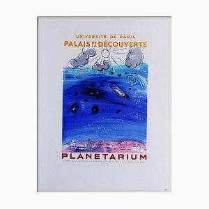 Raoul Dufy (d'après) , Planétarium, 1959 , lithograph