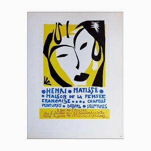 Henri Matisse (after) , Maison De La Pensée Française, 1959 , Lithograph