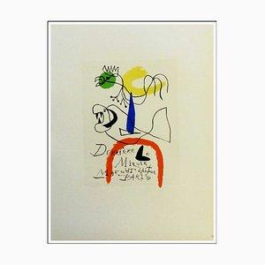 Joan Miro (d'après) , Derrière Le Miroir Maeght Editeur Paris, 1959 , lithograph