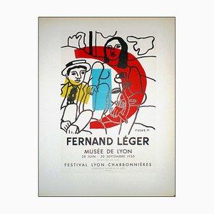Fernand Leger (after) , Fernand Léger Musée De Lyon, 1959 , Lithograph