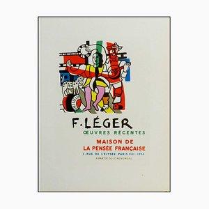 Fernand Leger (d'après) , Œuvres Récentes, 1959 , lithograph