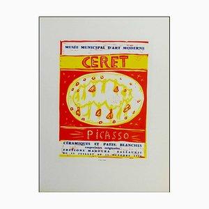 Pablo Picasso (d'après) , Céramiques Et Pates Blanches Ceret, 1959 , lithograph