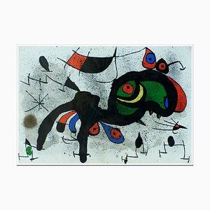 Lithographie Joan Miro, Flowery Ram, 1971