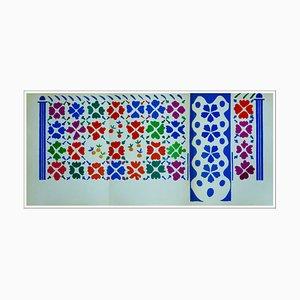 Henri Matisse (d'après) , Décoration Aux Fruits , 1958 , lithograph