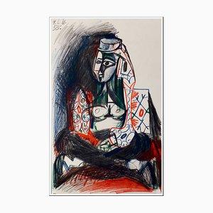 Lithographie de Pablo Picasso (après), Cahier De La Californie, 1959