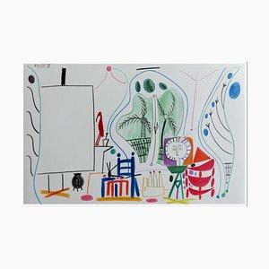 Pablo Picasso (after) , Cahier De La Californie Iii, 1959 , Lithograph