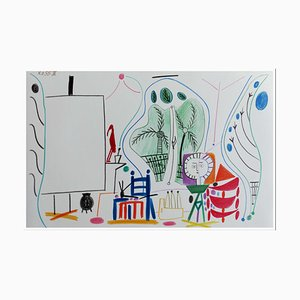 Pablo Picasso (nachher), Cahier De La Californie III, 1959, Lithographie